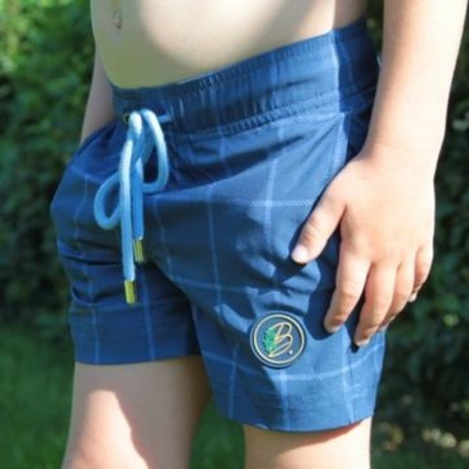 Become - Swimshort squares boy