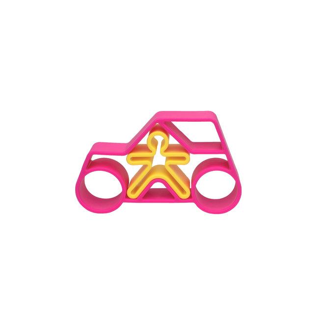 1 Car + 1 Kid Pink Neon