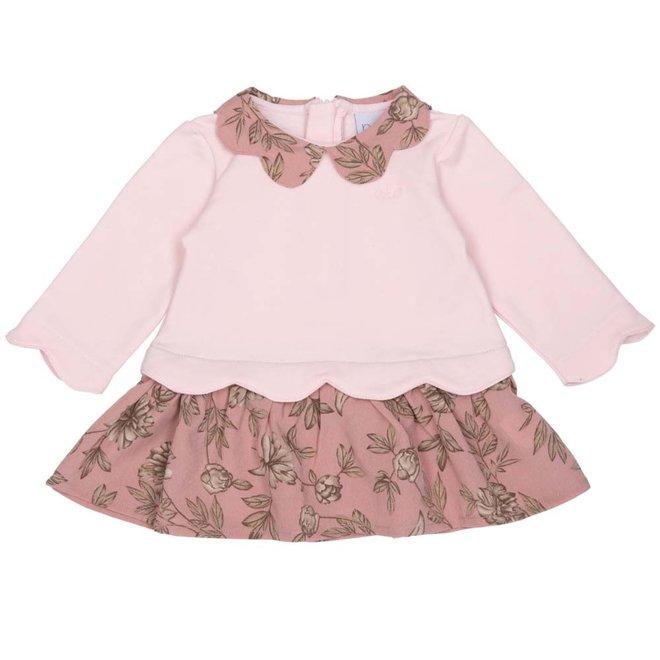 Dress mila flower pink