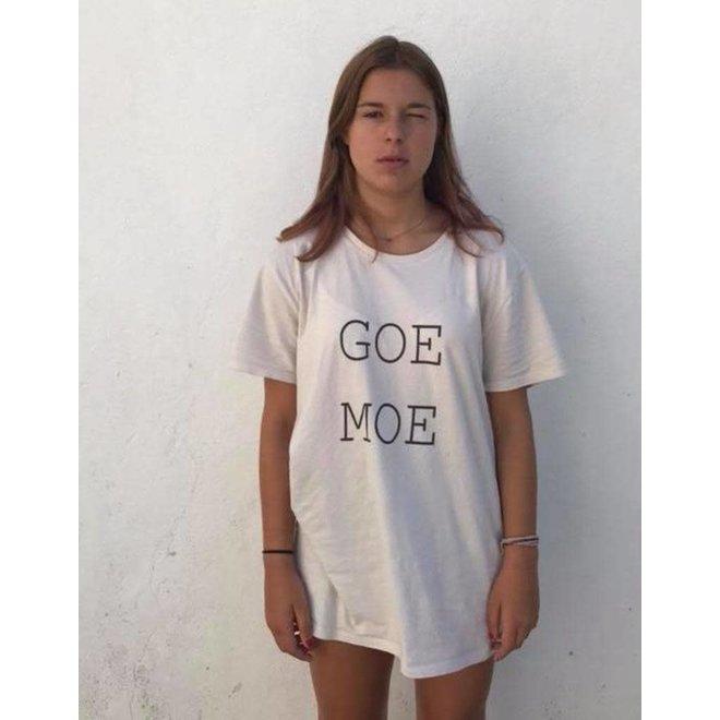 Goe Moe T-shirt naturel S