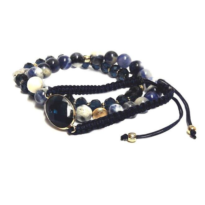 AISHA ARMBAND (Navy Blue)