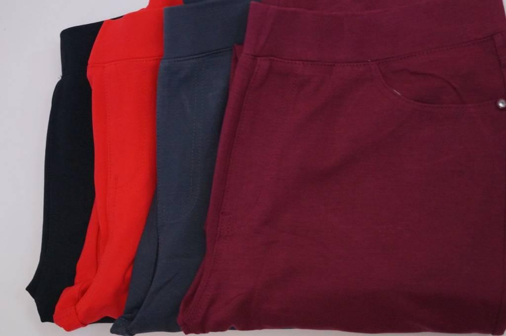 Beste Superstretch Pantalon / Tregging (LY347 Bordo zonder knoop SH-56