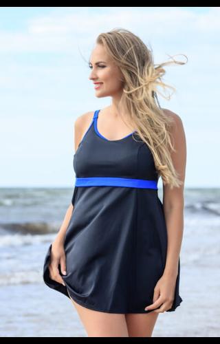 Plaisir Plaisir - Blue Stripes Swimdress