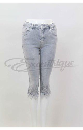 Mozzaar Forever Mozzaar Forever 3/4 Jeans Grijs