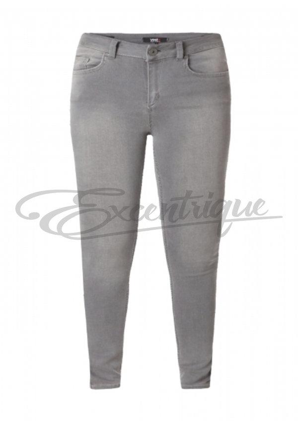 Yesta - Broek Joya Slim Fit Colours - Grey