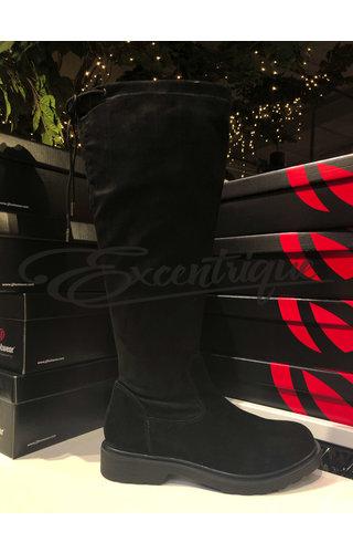 JJ Footwear JJ Footwear Laars - Virus/Kelslo - Zwart - XL