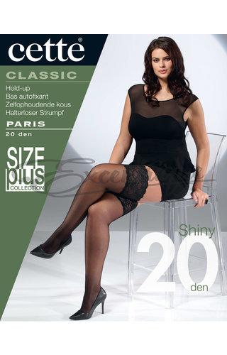 Cette Cette - Hold-up Paris Plus Size - 20D - Black
