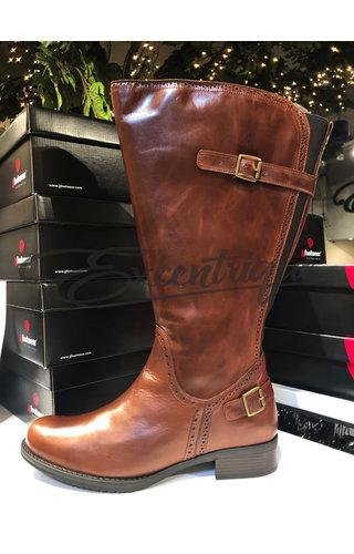 JJ Footwear JJ Footwear Laars - Niada/Napoli - Cognac - XL+