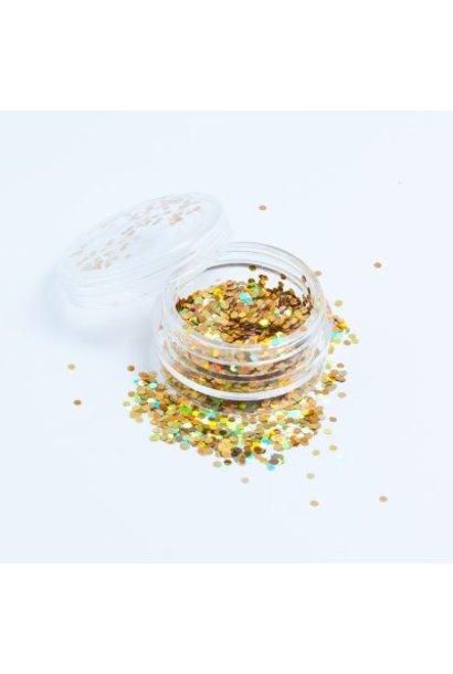 Hexagon Gold - BeautyNail