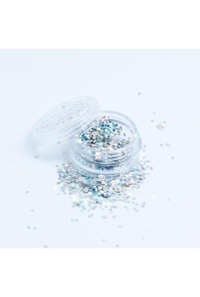 Hexagon Silber - BeautyNail