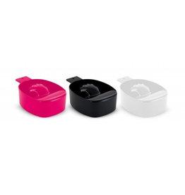 Maniküreschale schwarz, weiß oder pink