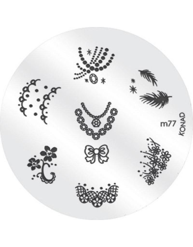 Konad Image Plate M77