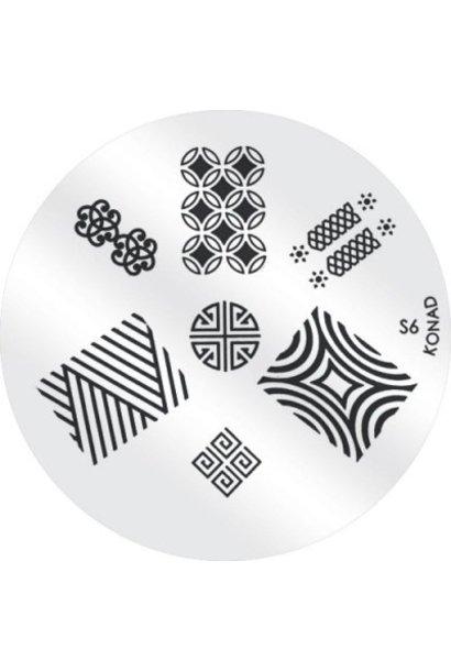 Konad Image Plate S6