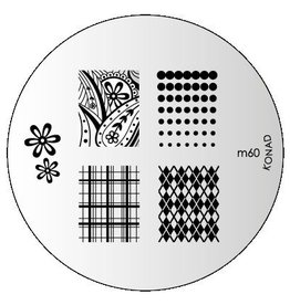 Konad Image Plate M60