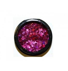 Hexagon Mix Dark Pink - BeautyNail