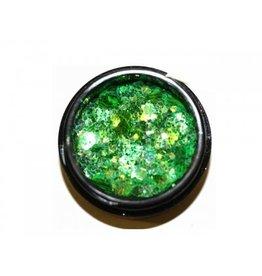 Hexagon Mix Smaragd - BeautyNail