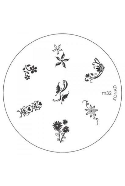 Konad Image Plate M32