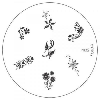 Konad Image Plate M32-1