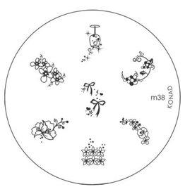 Konad Image Plate M38