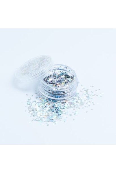 BeautyNail Rhombus Silber