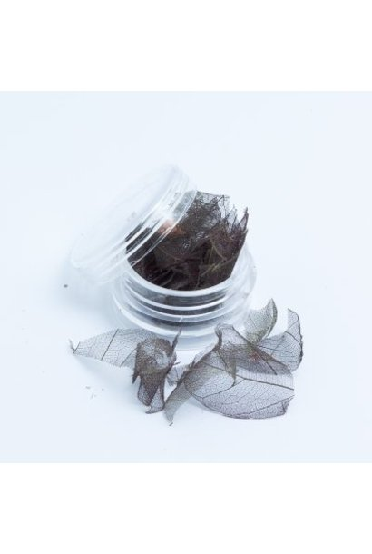 Skalett Blätter Grau - BeautyNail