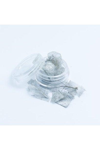 Skalett Blätter Silber - BeautyNail