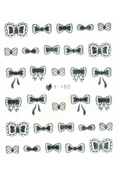 NailArt Sticker Y-102 - BeautyNail