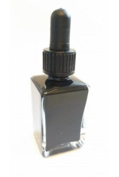 Spezial Malfarbe für NailArt 30ml *schwarz*