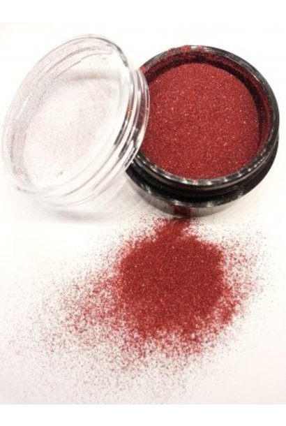 Micro Glitter Rot