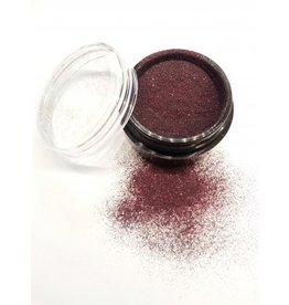 Micro Glitter Schwarz/Rot