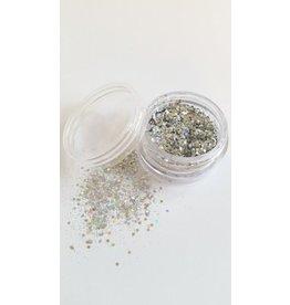 """Illusion Glitter Silber"""""""""""