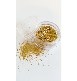 Illusion Glitter Gold""""