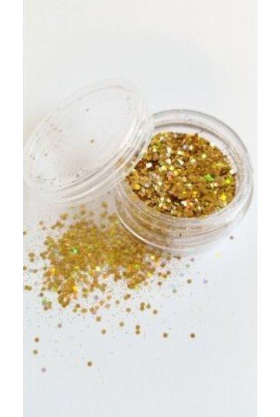 "Illusion Glitter Gold"""""