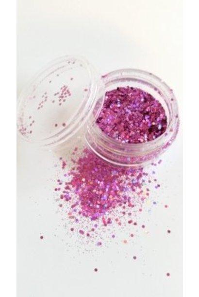 "Illusion Glitter Pink"""""