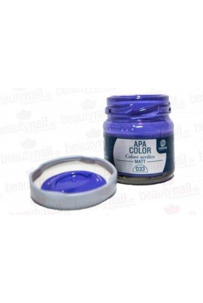 "Acrylfarbe APA Color Violetthell"" von Ferrario 40ml"""