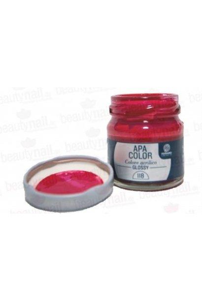 "Acrylfarbe APA Color Rot"" von Ferrario 40ml"""
