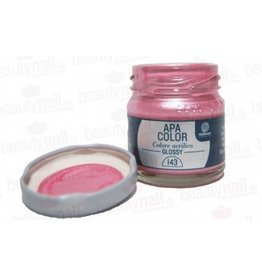 "Acrylfarbe APA Color Metallrosa"" von Ferrario 40ml"""