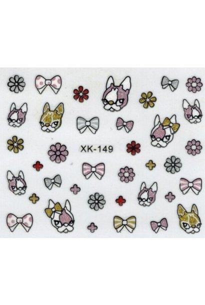 NailArt Sticker X-149