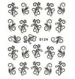 Nailart Sticker D124