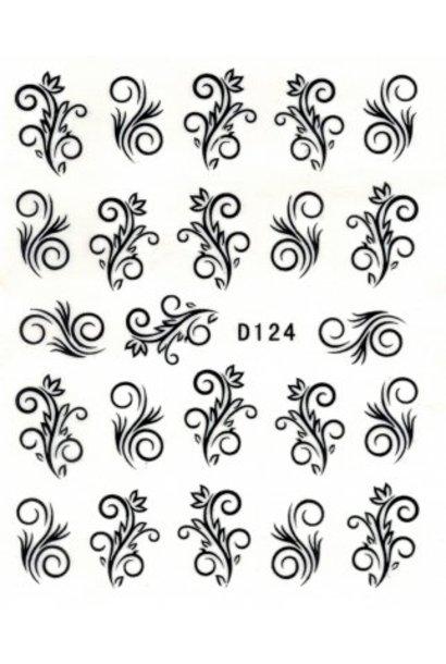 Nailart Sticker D124