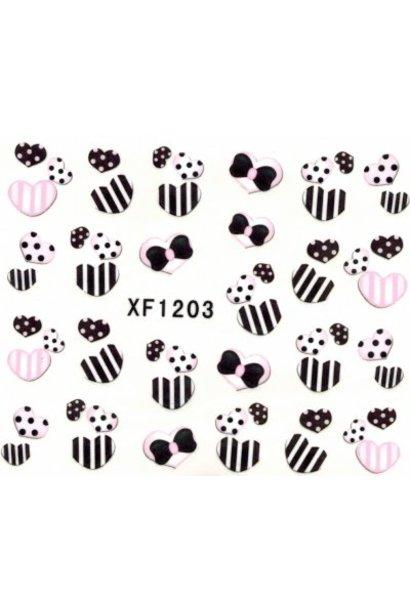 Nailart Sticker XF1203