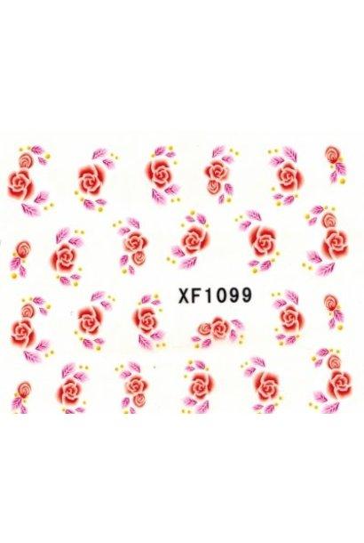 Nailart Sticker Xf1099 Von Beautynail Beautynail