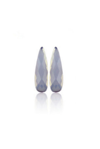 Rhinestones Raindrops - Blue Opal
