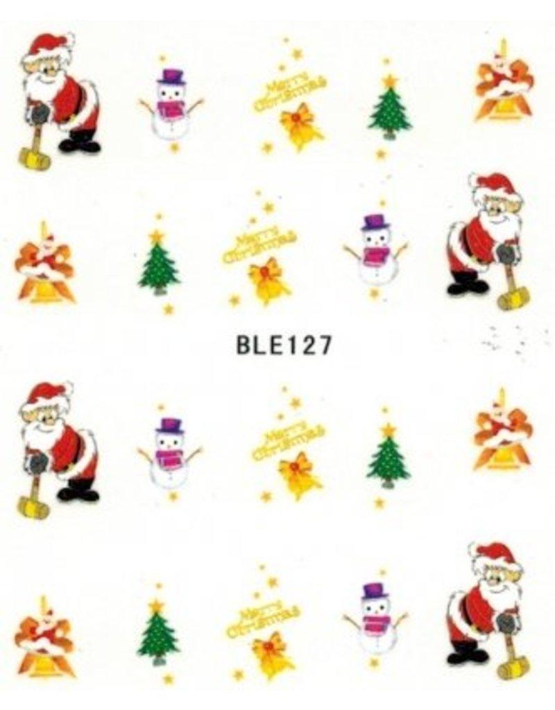 Nailart Sticker Ble127 Beautynail Beautynail Vof
