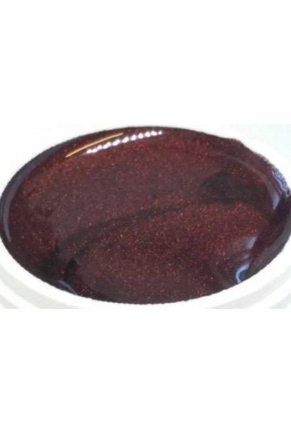 155 | Farbgel by Enzo 5ml - Sparkle Bordeaux