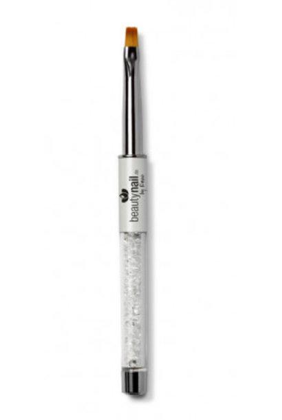 Luxus-Line Gel Pinsel Gr.4 White mit Strass