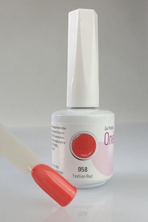 958 | One Lack 12ml -  Fashion Red-1
