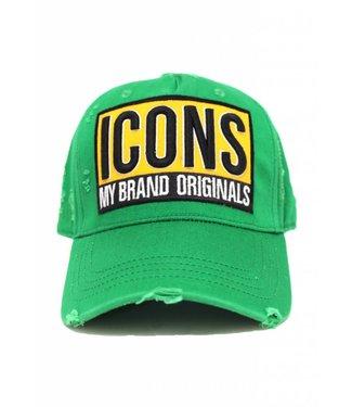 My brand MY BRAND ICONS SERIES CAP UNISEX - GROEN