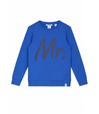 NIK&NIK NIK&NIK GEORGE SWEATER - TRUE BLUE