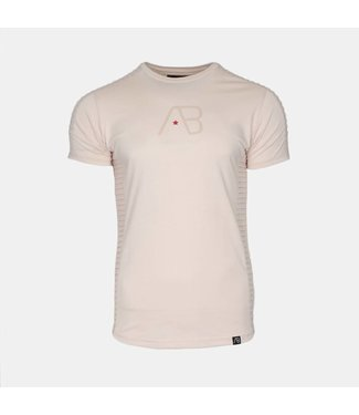 AB LIFESTYLE AB T-SHIRT – THE RIB CHAMPAGNE